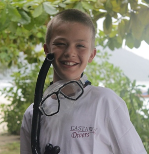 PADI Junior Open Water Diver Course, Koh Lipe