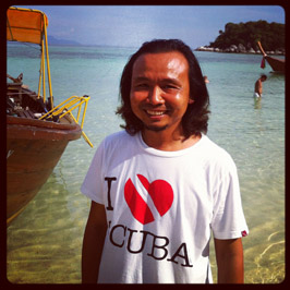 Khumron Waipaka - Dive Shop Manager
