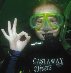 PADI Junior Advanced Open Water Diver Course - Koh Lipe